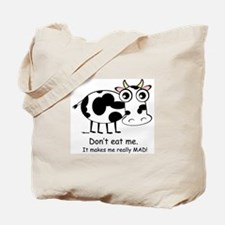 Mad Cow 1 Tote Bag