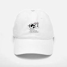 Mad Cow 1 Baseball Baseball Cap