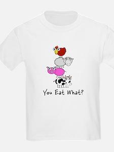 You Eat What Kids T-Shirt