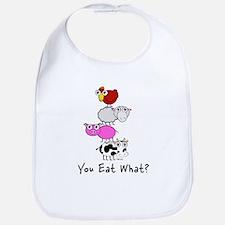 You Eat What Bib