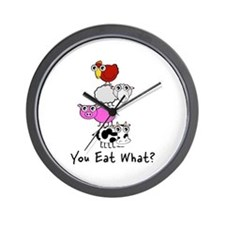 You Eat What Wall Clock