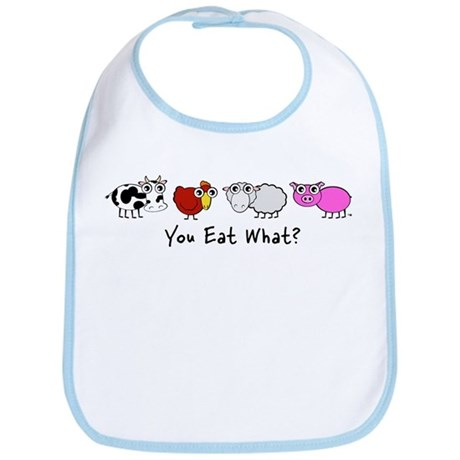 You Eat What? Bib