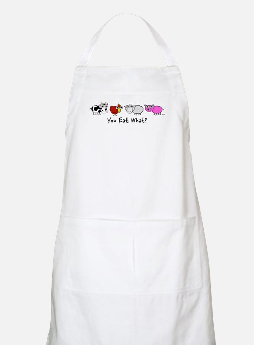 You Eat What? BBQ Apron