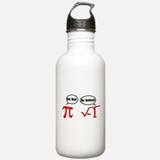 Get Real, Be Rational Sports Water Bottle