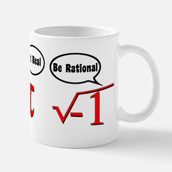 Get Real, Be Rational Mug