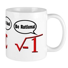 Get Real, Be Rational Mug