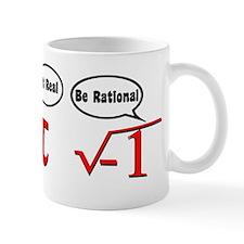 Get Real, Be Rational Small Mug