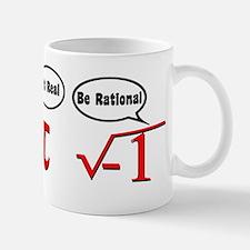Get Real, Be Rational Small Small Mug