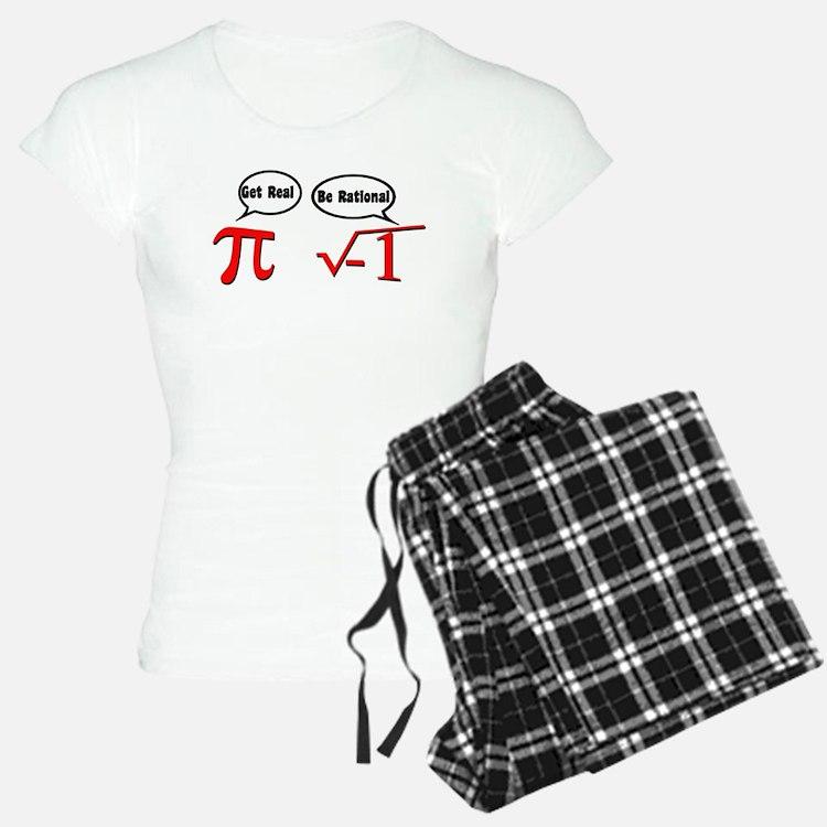 Get Real, Be Rational pajamas
