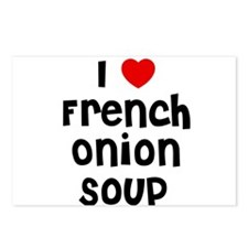 I * French Onion Soup Postcards (Package of 8)