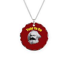 Karl Marx Necklace