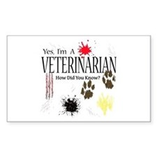Yes I'm A Veterinarian Decal
