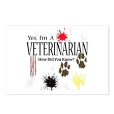 Yes I'm A Veterinarian Postcards (Package of 8)