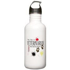 Yes I'm A Veterinarian Water Bottle