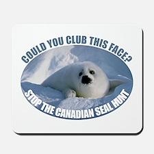 Canadian Seal Hunt Mousepad