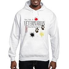Yes I'm A Veterinarian Hoodie