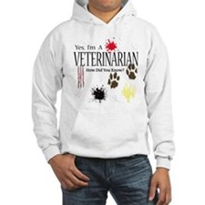 Yes I'm A Veterinarian Jumper Hoody