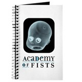 Academy of fists Journals & Spiral Notebooks
