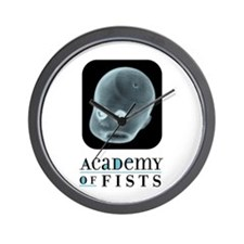 Academy of Fists Wall Clock