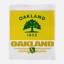 Oakland Pride Throw Blanket