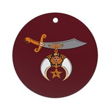 Shriners Ornament (Round)