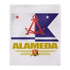 Alameda Pride Throw Blanket