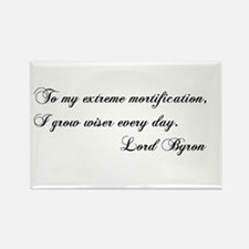 Lord Byron Rectangle Magnet