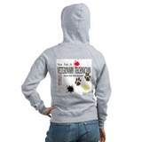 Veterinary technician Zip Hoodies