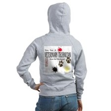 Yes I'm A Veterinary Technician Zip Hoodie