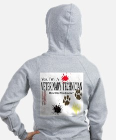Yes I'm A Veterinary Technician Zip Hoodie