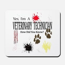 Yes I'm A Veterinary Technician Mousepad