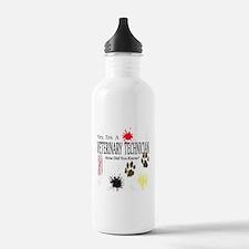 Yes I'm A Veterinary Technician Water Bottle