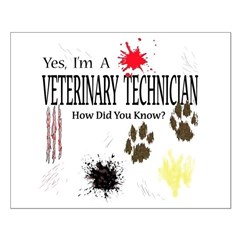 Yes I'm A Veterinary Technician Posters
