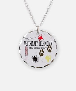 Yes I'm A Veterinary Technician Necklace