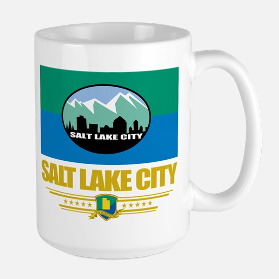 Salt Lake City Pride Large Mug