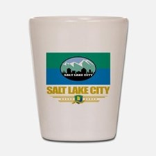 Salt Lake City Pride Shot Glass