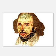 Modern Shakespeare Postcards (Package of 8)
