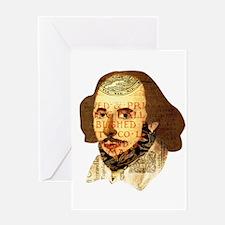 Modern Shakespeare Greeting Card