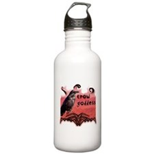 Crow Goddess Water Bottle