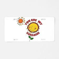 SunShine Aluminum License Plate