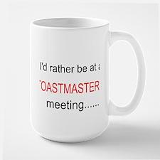 Toastmasters meeting Large Mug