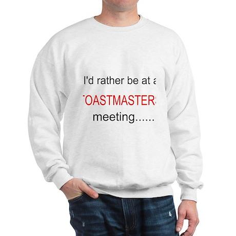 Toastmasters Meeting Sweatshirt