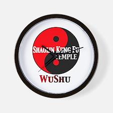wushu Wall Clock