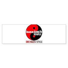 Drunken style Bumper Sticker