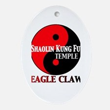 Eagle Claw Ornament (Oval)