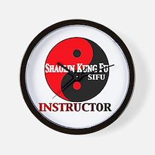 Instructor Wall Clock