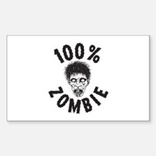 Zombies Sticker (Rectangle)