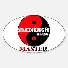 Master Sticker (Oval)