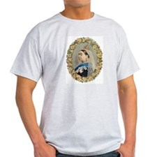 Queen Victoria Ash Grey T-Shirt