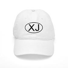 XJ - Initial Oval Baseball Cap